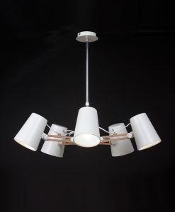 Lámpara colgante LOOKER 5 luces
