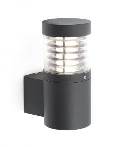 Aplique de pared LED GIZA gris