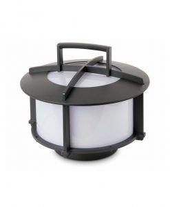 Lámpara portátil CROSS gris oscuro