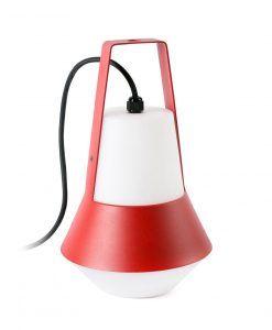 Lámpara portátil roja CAT