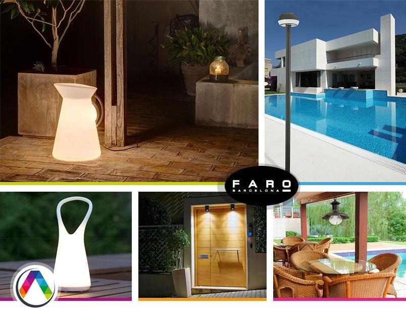 Tipos de lámparas para la iluminación led exterior en La Casa de la Lámpara