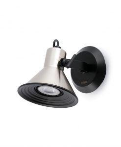 Lámpara aplique níquel 1 luz CUP