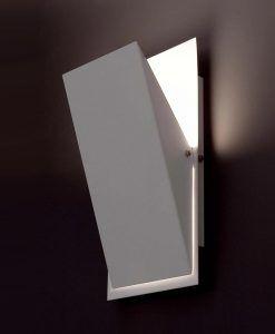 Lámpara de pared HOMS blanca