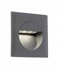 Empotrable gris oscuro MINI CARTER LED