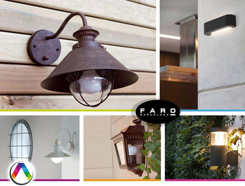 Lámparas aplique exterior en La Casa de la Lámpara