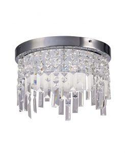 Plafón cristal circular KAWAI LED - La Casa de la Lámpara