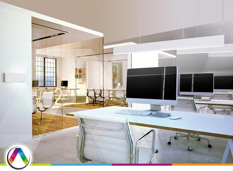 Recomendaciones para iluminar una oficina