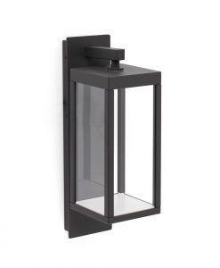 Lámpara aplique exterior gris oscura KERALA LED