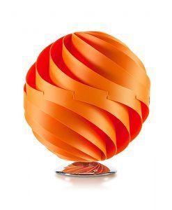 Lámpara de mesa 35 cm esfera TWISTER naranja