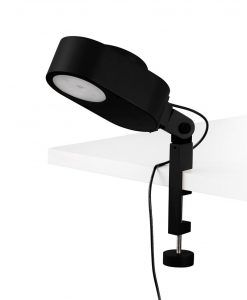 Lámpara pinza regulable en el eje INVITING LED