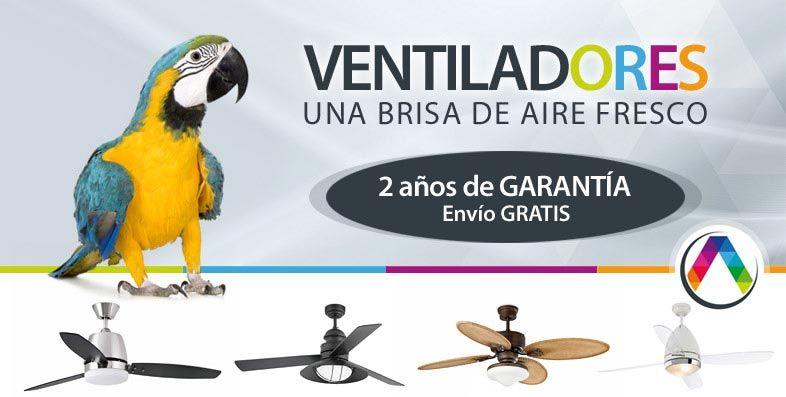 Las mejores ofertas de ventiladores de techo lo podrás encontrar en La Casa de la Lámpara