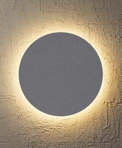 Aplique circular plata BORA BORA LED