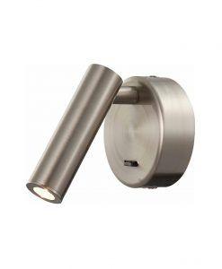 Aplique LED 3W níquel satinado PREA