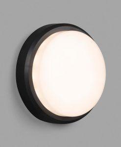 Aplique de pared negro TOM XL LED