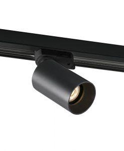 Proyector de carril LED negro STAN