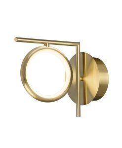 Aplique LED oro satinado OLIMPIA