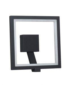 Lámpara aplique LED gris oscuro RODAS