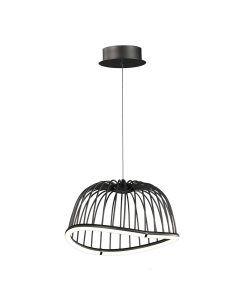 Lámpara colgante pequeño negro CELESTE LED