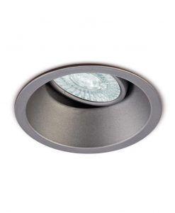 Ojo de buey 9,6 cm Ø plata COMFORT GU10