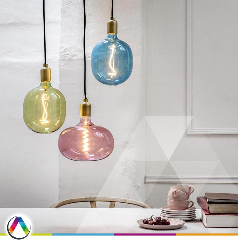 Bombillas decorativas vintage de filamentos flexibles LED