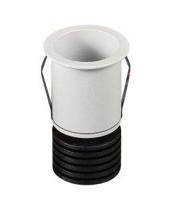 Empotrable blanco 4,1 cm Ø luz cálida GUINCHO LED