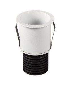 Empotrable blanco 5,5 cm Ø luz cálida GUINCHO LED