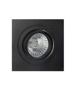 Empotrable embellecedor negro 9,2 cm BASICO GU10