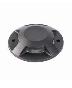 Lámpara superficie negra 4 luces LOTH-2