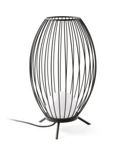 Pie exterior gris oscuro CAGE LED