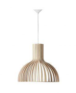 Lámpara de madera Ø 46 cm SAVOY