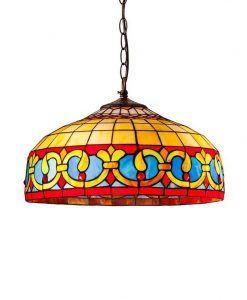 Lámpara tiffany artesanal Ø 40 cm CENEFA