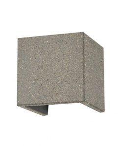 Aplique gris 12W acabado cemento TAOS LED