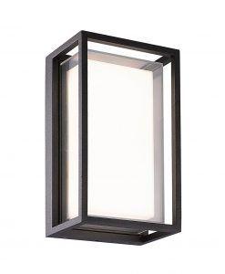 Aplique gris oscuro 9W CHAMONIX LED