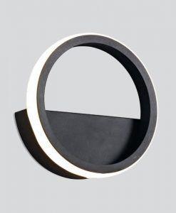 Aplique negro 8W KITESURF LED