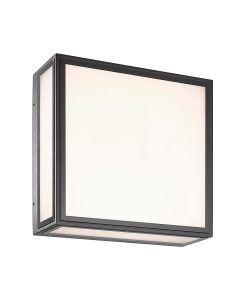 Plafón o aplique gris oscuro 14W BACHELOR LED