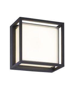 Plafón o aplique gris oscuro 9W CHAMONIX LED
