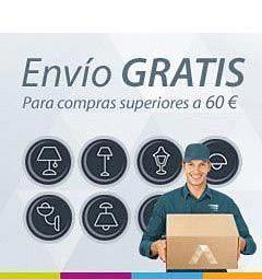 Envío gratis de tu pedido para compras a partir de 60 euros