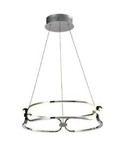 Lámpara 47 cm Ø cromo COLETTE LED