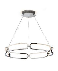 Lámpara 80 cm Ø cromo COLETTE LED
