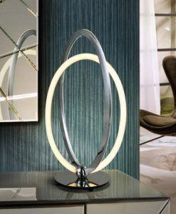 Lámpara de mesa cromo OCELLIS LED