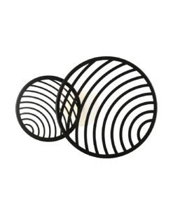 Lámpara plafón negro 30W LED COLLAGE