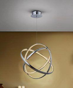 Lámpara de techo cromo 50 Ø CELINE LED