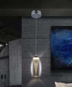 Lámpara de techo LED 1 luz NEBULA