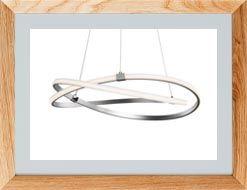 Lámparas de techo minimalistas