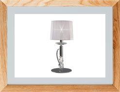 Lámparas de mesa clásicas