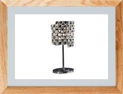 Lámparas de mesa de cristal